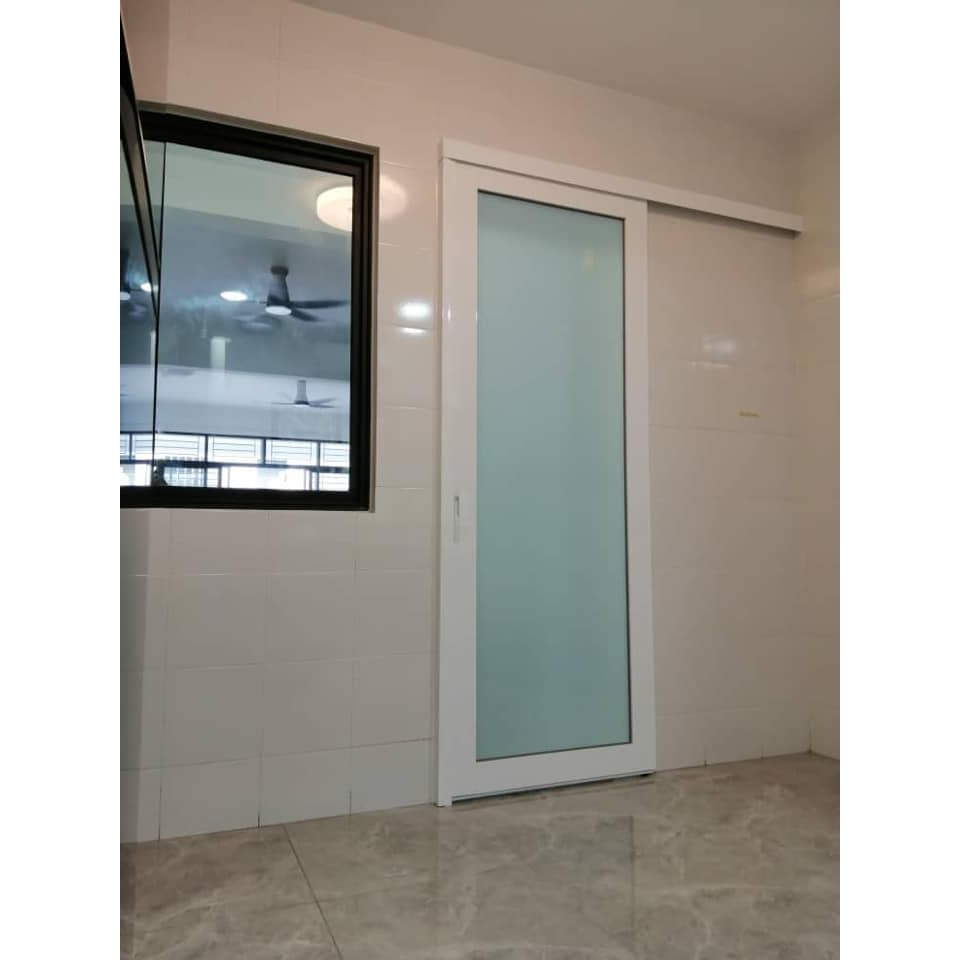 Pre Order Only Sliding Door Lami Kitchen Door Hanging Door Sliding Glass Door Pintu Gelangsar Pintu Gelongsor Shopee Malaysia