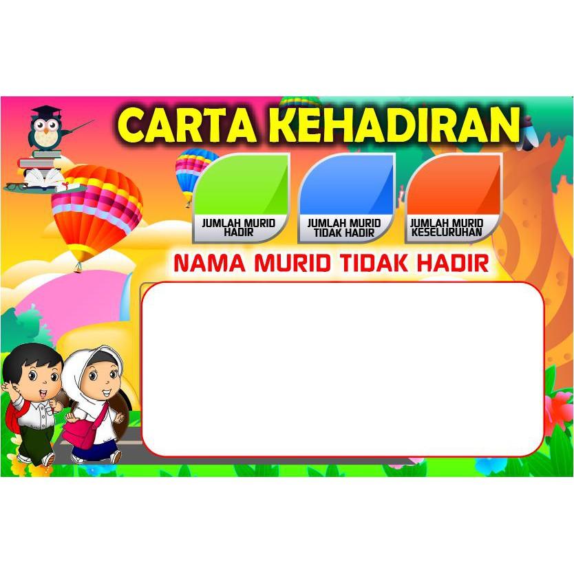 Set Carta Kelas Ceria Carta Tugasan Murid Jadual Kelas Organisasi Ganjaran Kehadiran Parking Lot Shopee Malaysia