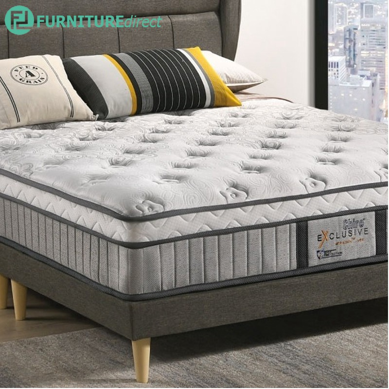 FREE BED FRAMEDREAMLAND Chiro Exclusive 12″ Miracoil Latex layertop spring mattress - FREE DELIVERY