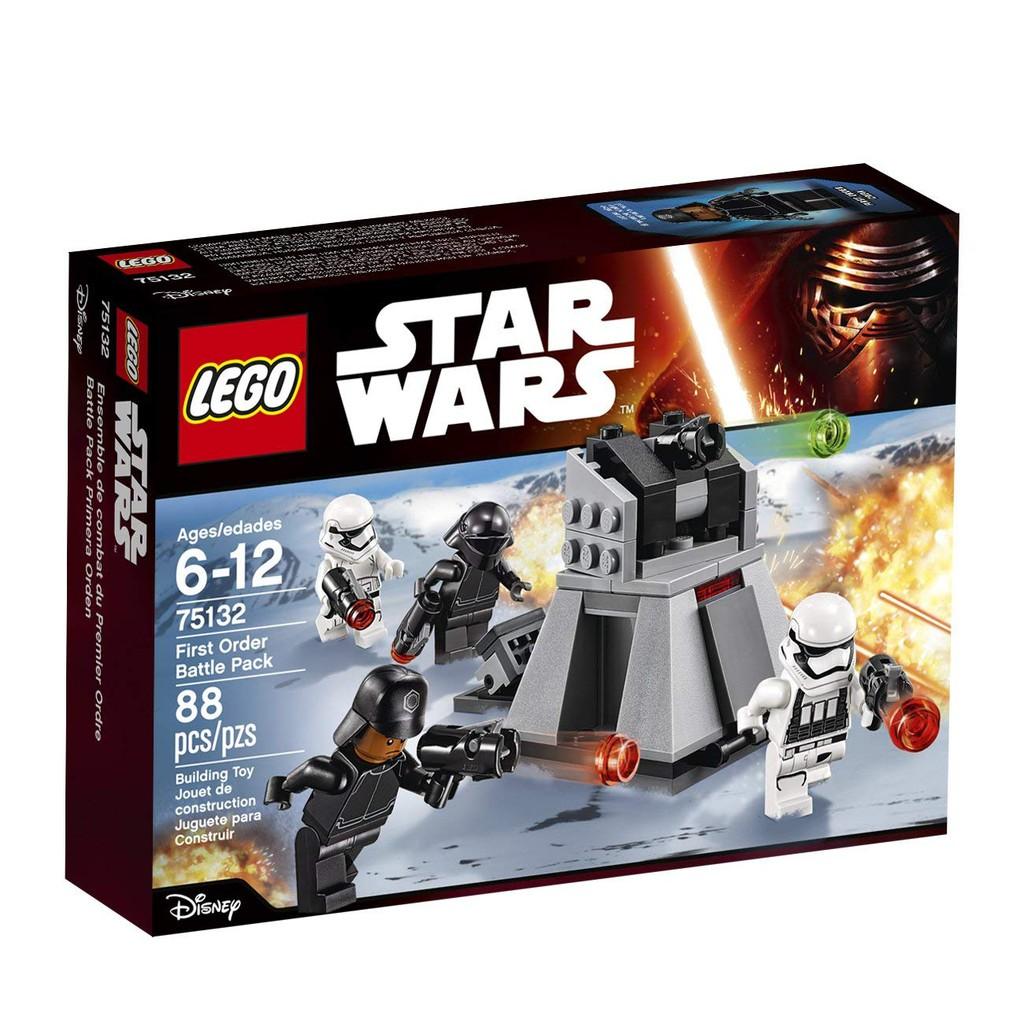 LEGO Bau- & Konstruktionsspielzeug LEGO Minifiguren 5 Lego Star Wars Figuren First Order Stormtrooper Heavy Assault Minifig 75132