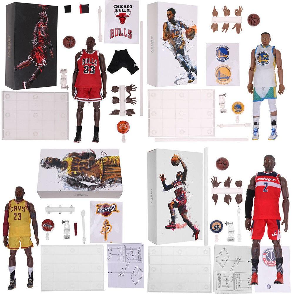 26b729a0d05caa 1 9 Scale NBA James   Stephen Curry  Michael Jordan Motion Masterpiece  Figure