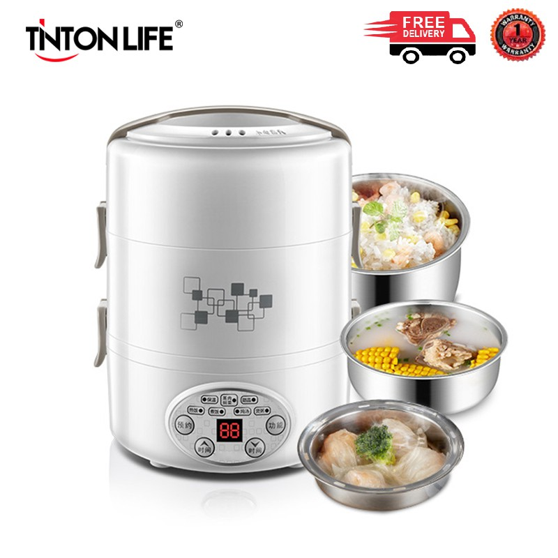 TINTON LIFE Electric Lunch Box - 3 Layer (270W/2L)