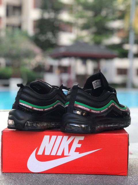 NIKE AIRMAX 97 UNDEFEATED RUNNING SHOES MEN BLACK [41-45 EURO]