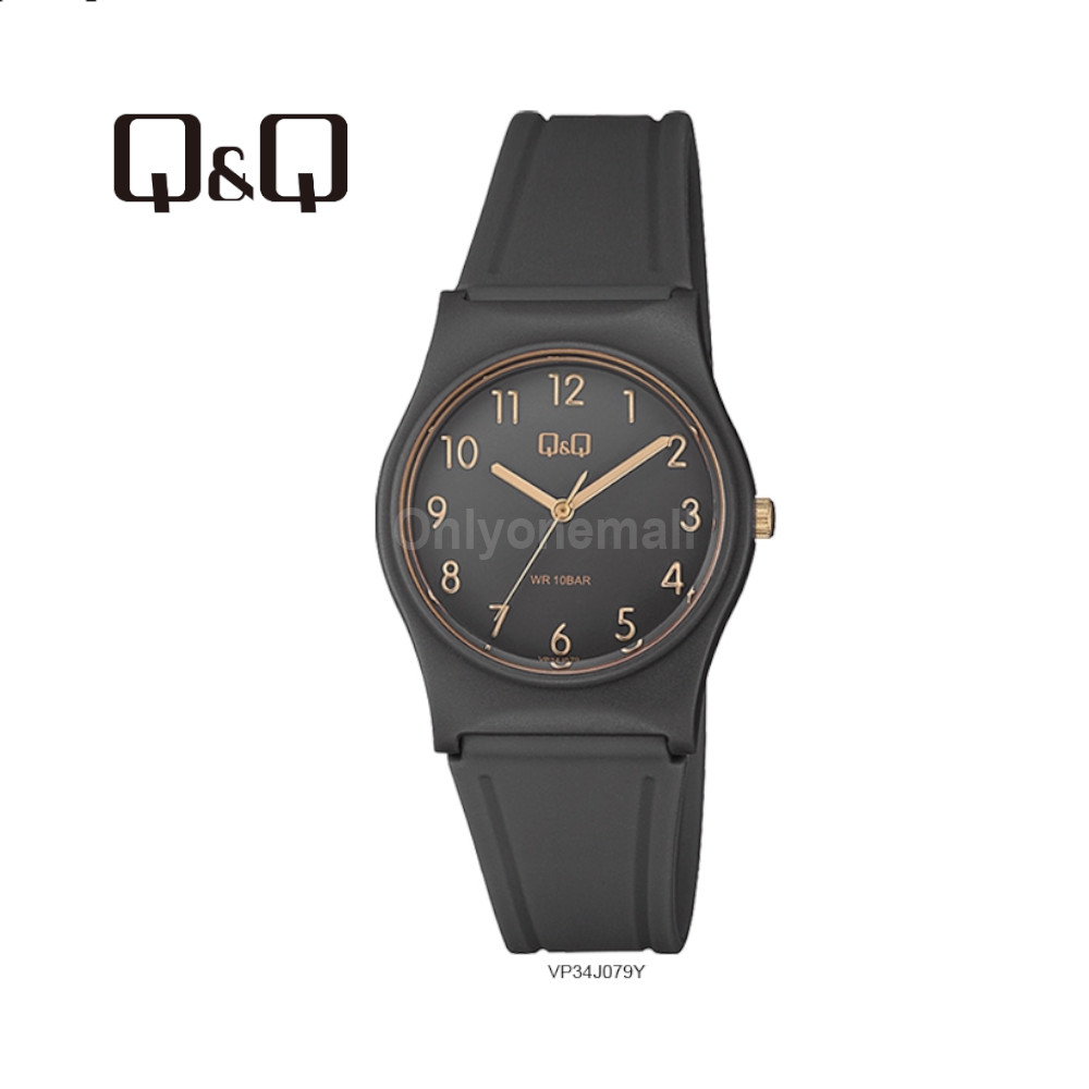 Q&Q VP34J079Y Ladies 33mm Casual Analogue Watch 100m Water Resistance