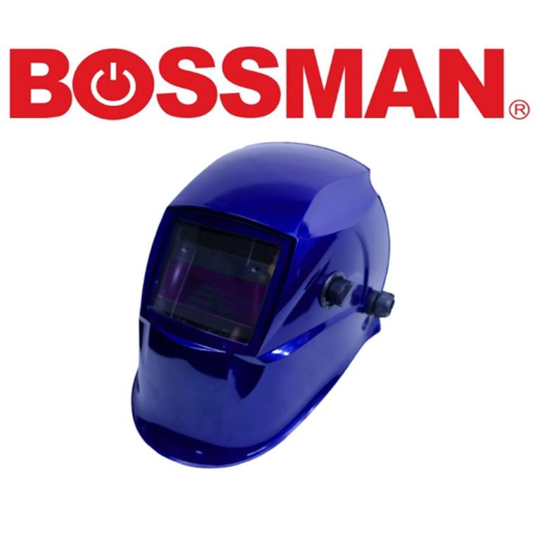 BOSSMAN BWH202H AUTO DARKENING WELDING HELMET HIGH GOOD QUALITY PROFESSIONAL SAFETY 3 MONTHS WARRANTY