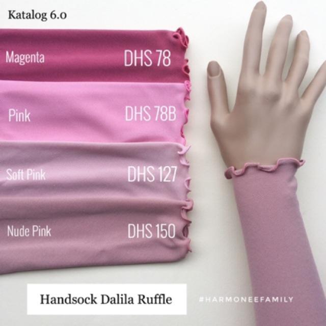 Handsock dalila single ruffle FREE POUCH BAG ❤️💕