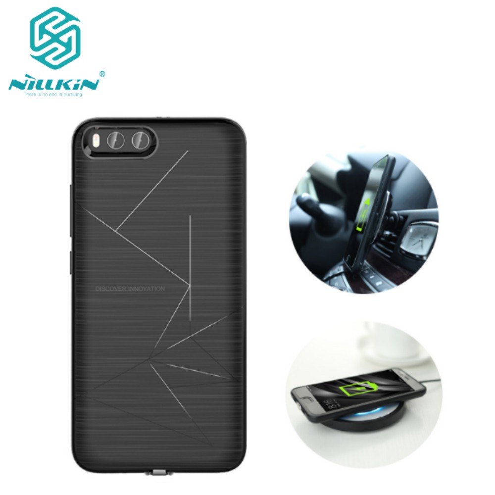 new concept f22fb b3f38 Nillkin Magic Case Wireless Charging Receiver Oneplus 5