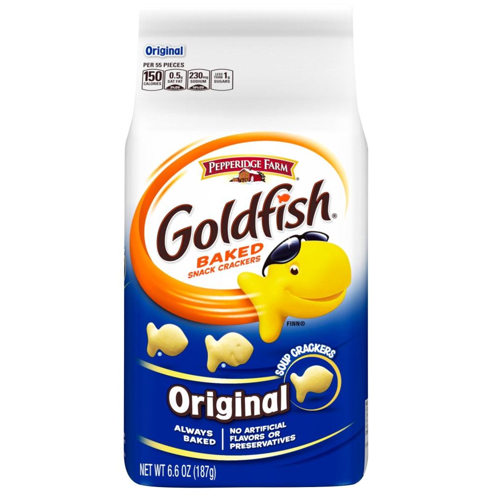 [TNY] Pepperidge Farm (USA) Goldfish Cheddar crackers (187g)