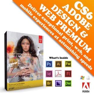 Promotion Adobe Design Web Premium Cs6 Original Genuine Shopee Malaysia