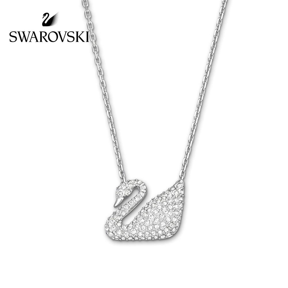 6849df0af60f5 Swarovski Kalung Sliver Dream Swan Pendant Necklace by Gift Box 5007735