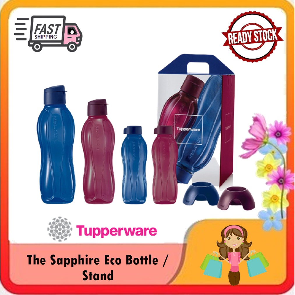 Tupperware The Sapphire Eco Bottle / Stand (1)