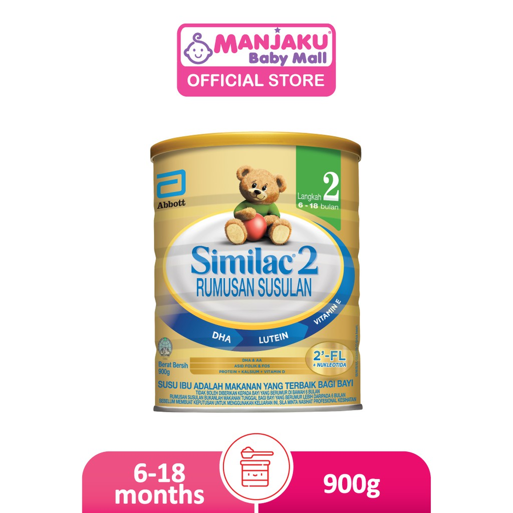 Similac Step 2 Follow-Up Milk Formula (900g)