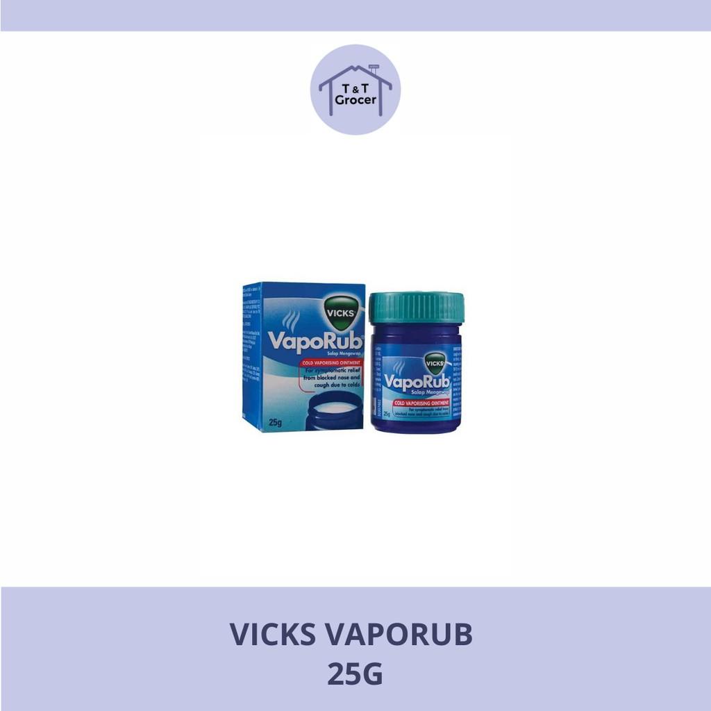 Vicks VapoRub 25g (Vaporising Ointment)