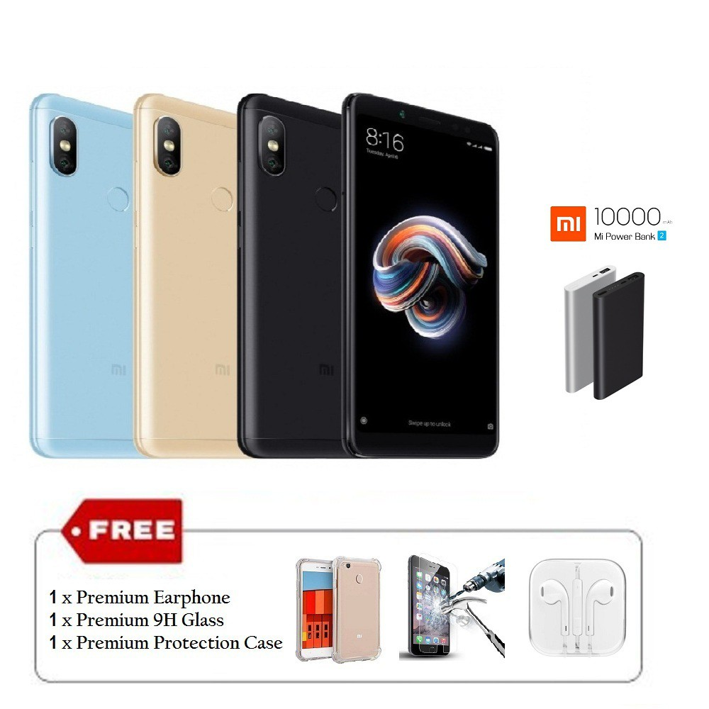 Redmi Note 5 Pro Ai Edition 6gb Ram 64gb Rom Original Imported Xiaomi New Set Shopee Malaysia
