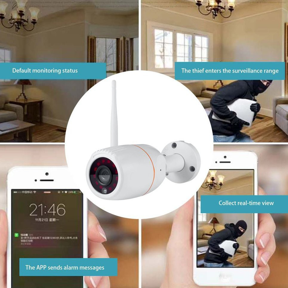 💕NL YN1 HD Wireless Surveillance Camera APP Remote Monitor Motion Alarm IP  Camera