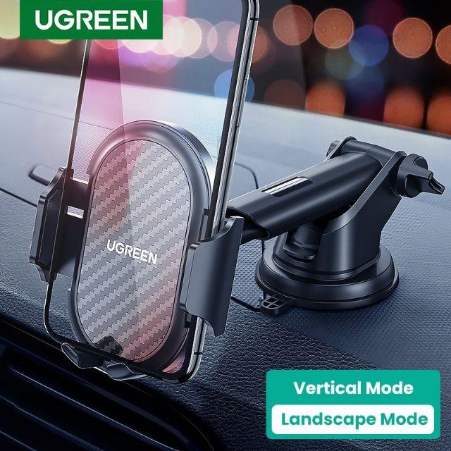 Ready Stock UGREEN Car Holder Gravity Stand 360 Rotation