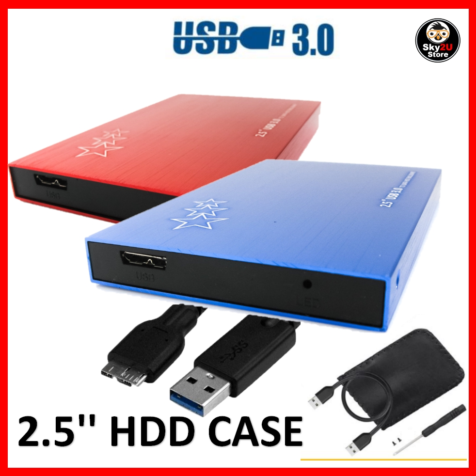 2.5'' USB3.0 HDD Enclosure Aluminium