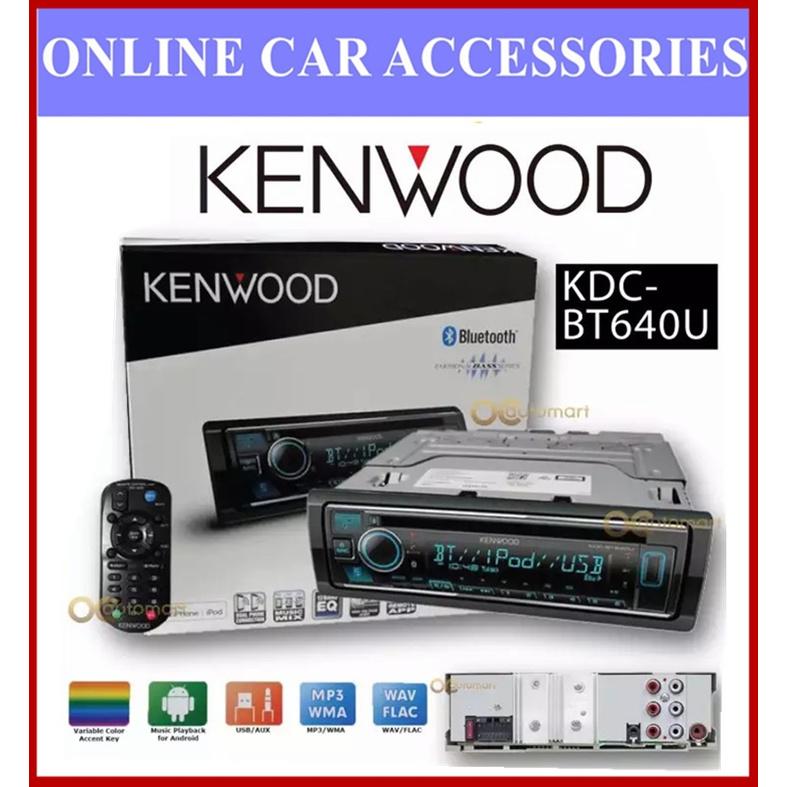 Kenwood KDC-BT640U Built-in Bluetooth®, USB / CD Receiver