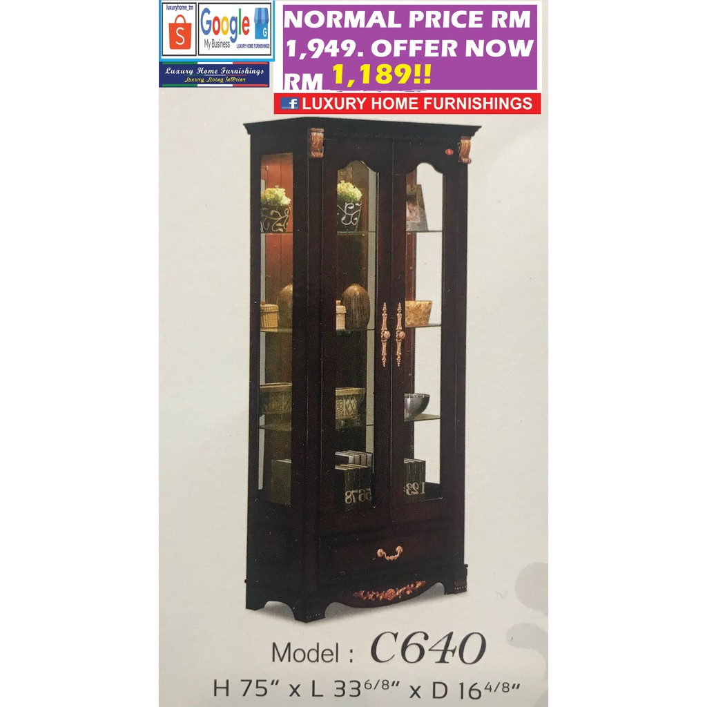 DISPLAY CABINET COLLECTION G