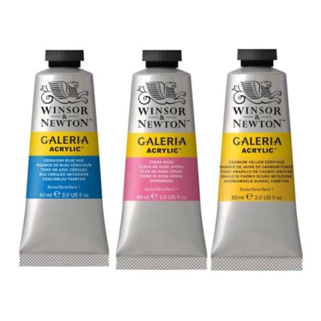 W&N Part.2สีอะคริลิค วินเซอร์ แอนด์ นิวตัน 60ml. Winsor&Newton Acrylic