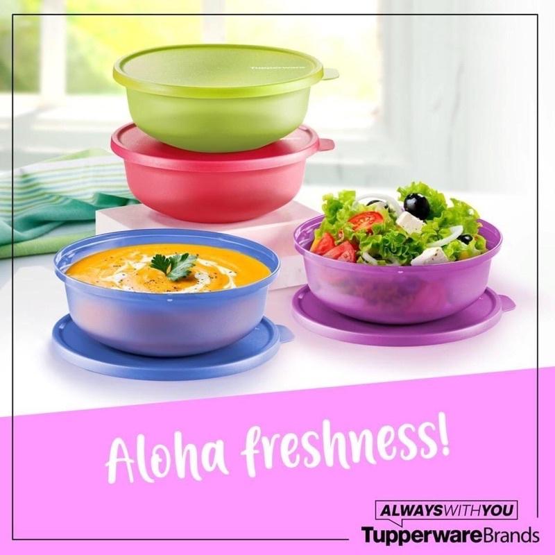 Tupperware Aloha Bowl 1L