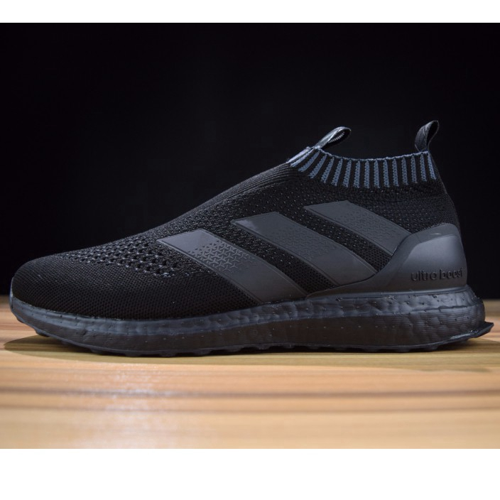 watch d2673 f4980 ADIDAS Kith x Ace 16+ PureControl Ultra Boost all black ready stock real