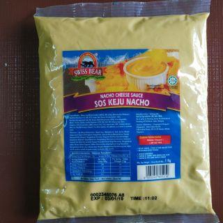 Swissbear Nacho Cheese Sauce Halal 1kg | Shopee Malaysia