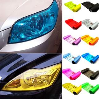 Auto Car Smoke Fog Light Headlight Taillight Tint Vinyl Film Sheet Sticker Array