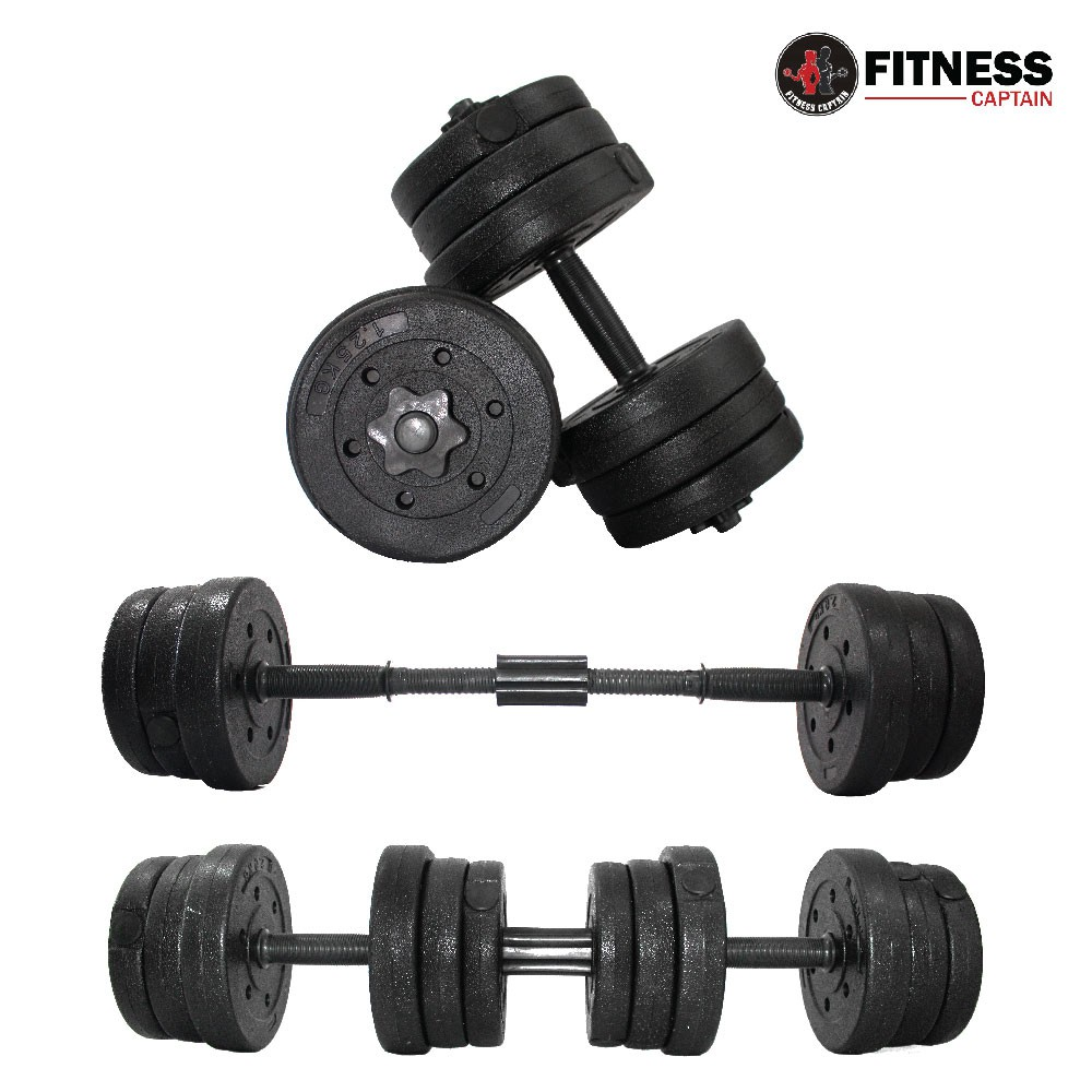 Adjustable Dumbbells Malaysia: Fitness Gym 20kg Adjustable Bumper Dumbbell And Barbell