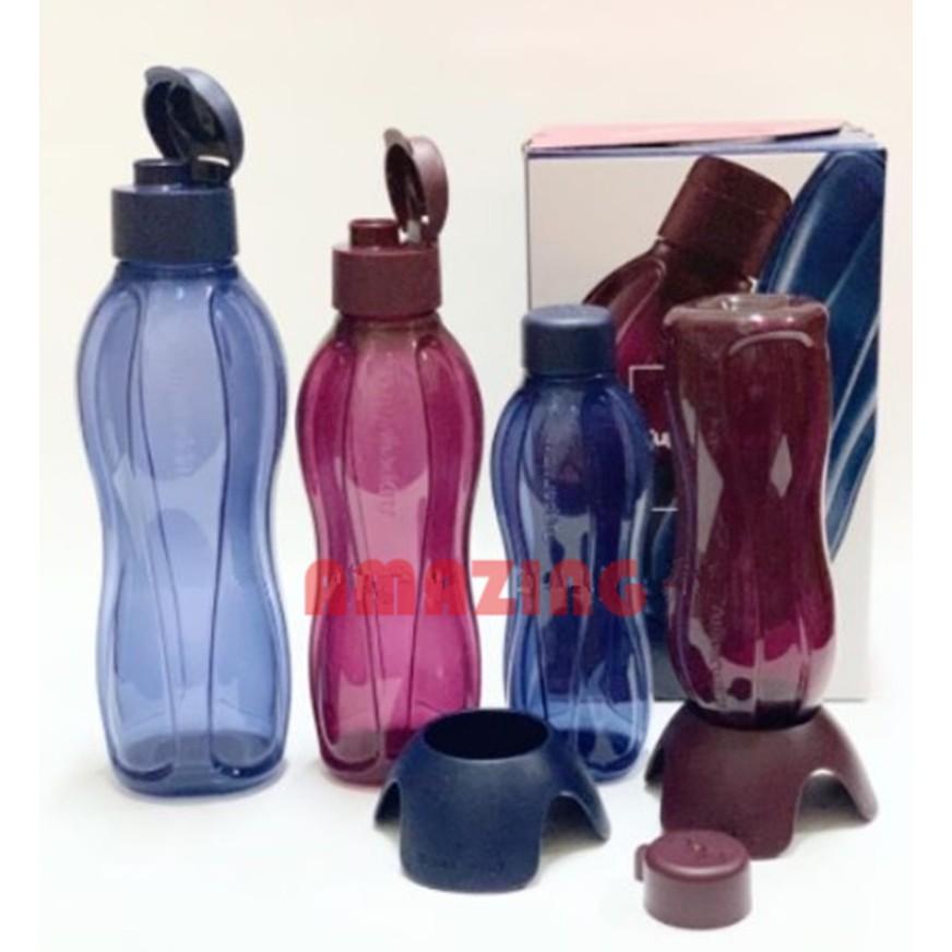 Tupperware Sapphire Eco Bottle Set Free 2 unit bottle stand