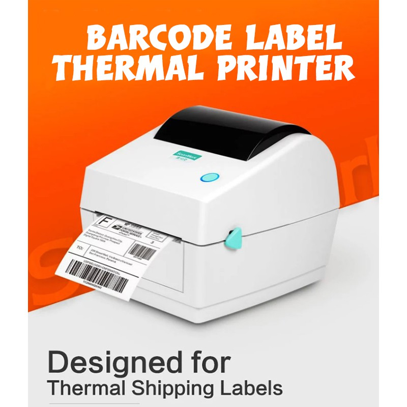Barcode Label Thermal Printer SMK-M6 for Shipping Label