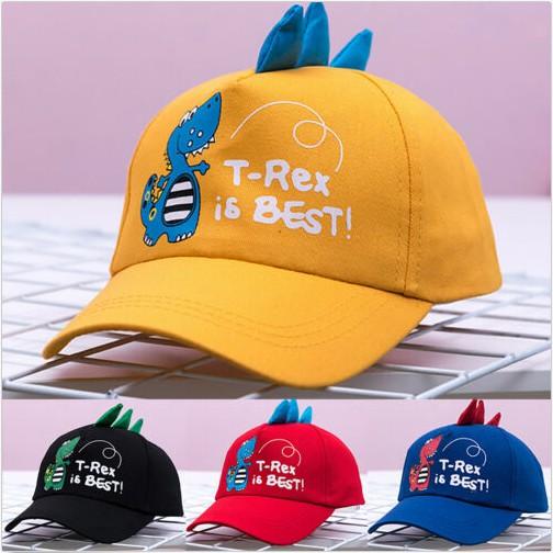 63fcc3793 Unisex Boys Girl Kid Cartoon Dinosaur Adjustable Baseball Cap Summer  Outdoor Hat