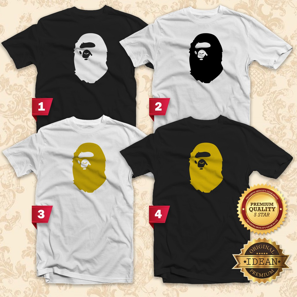 d3c4a8ec THE BATHING APE T-Shirt Men / Women UNISEX Tee - IDEAN Style S402 | Shopee  Malaysia