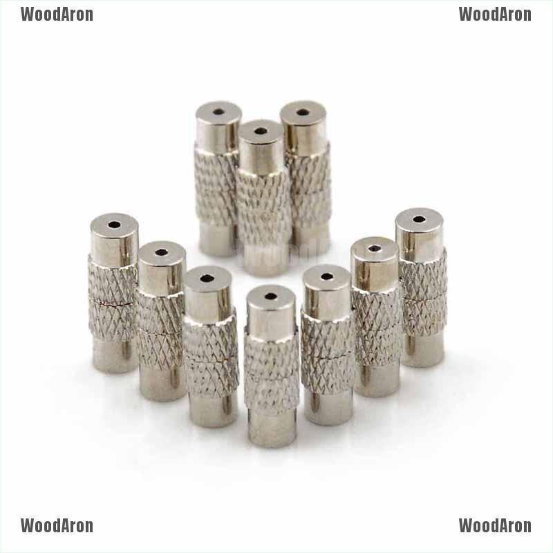 50 pcs Bracelet Screw Clasps DIY Necklace Bracelet Buckle Findings