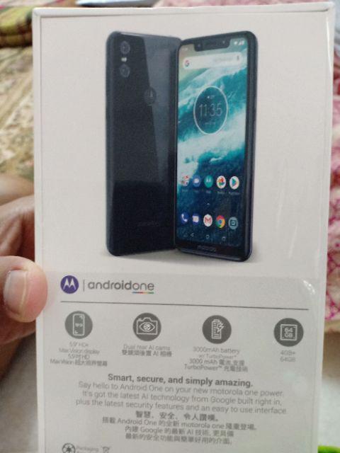 Motorola One (4GB+64GB/Dual Rear AI Cams/TurboPower/Octa Core/5 9