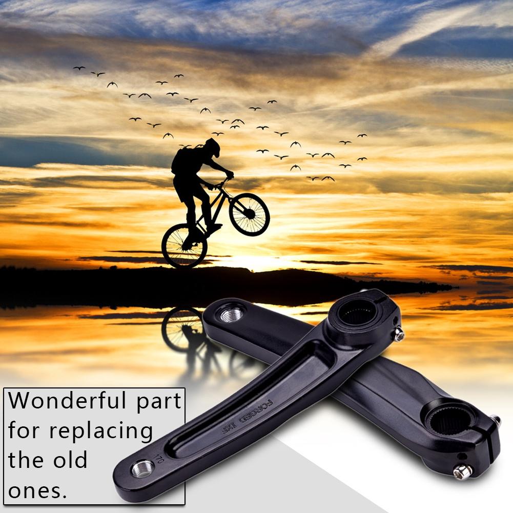 170MM MTB Road Bike Left Crank Alloy Arm For Simano 590//610//SLX//XT Crank Silver