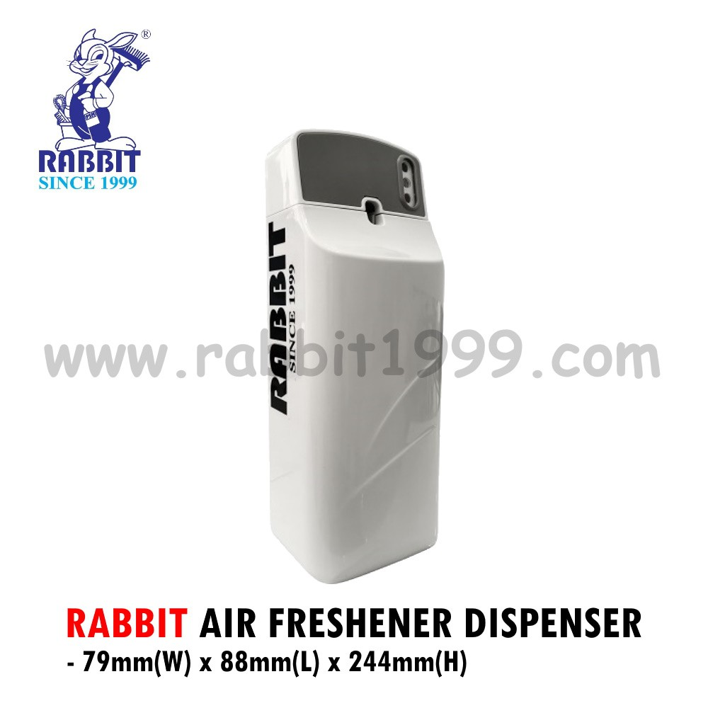 RABBIT AIR FRESHENER DISPENSER- auto freshener dispenser/ fragrance dispenser/ air freshener dispenser automatic/ 空气清新机