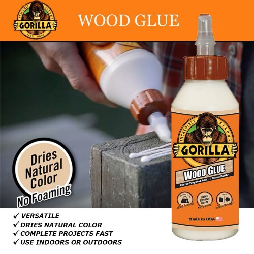 Gorilla Wood Glue (Gam Kayu) 8Oz