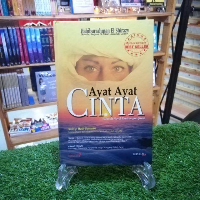 BUKU INDONESIA : AYAT AYAT CINTA (HARDCOVER)