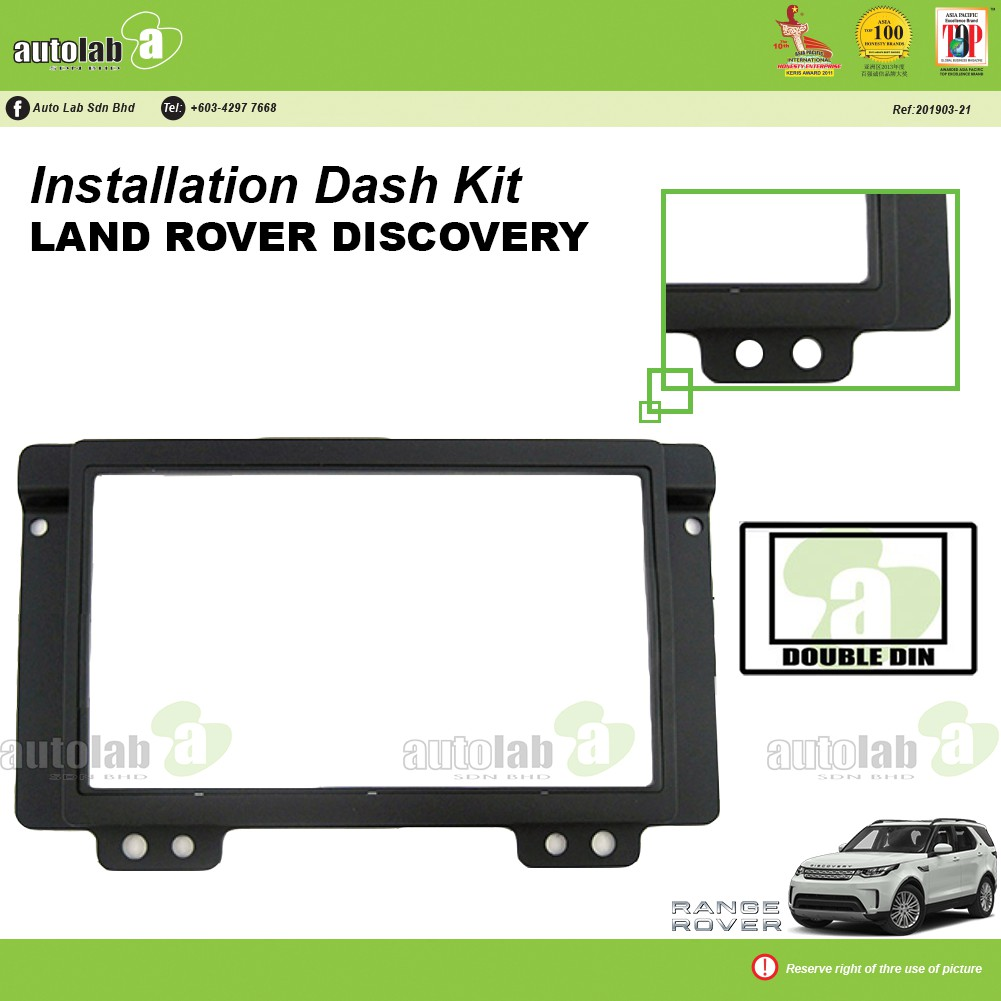 Player Casing Double Din Land Rover Discovery