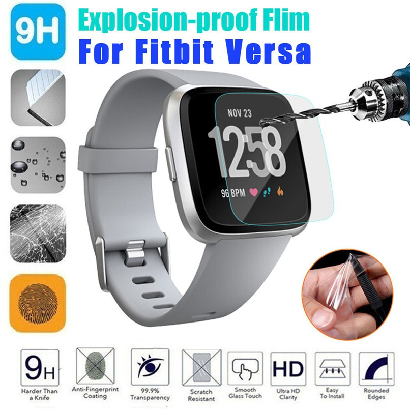 Fitbit Versa HD Tempered Glass/Frosted/HD/Explosion-proof Screen Protector  Film