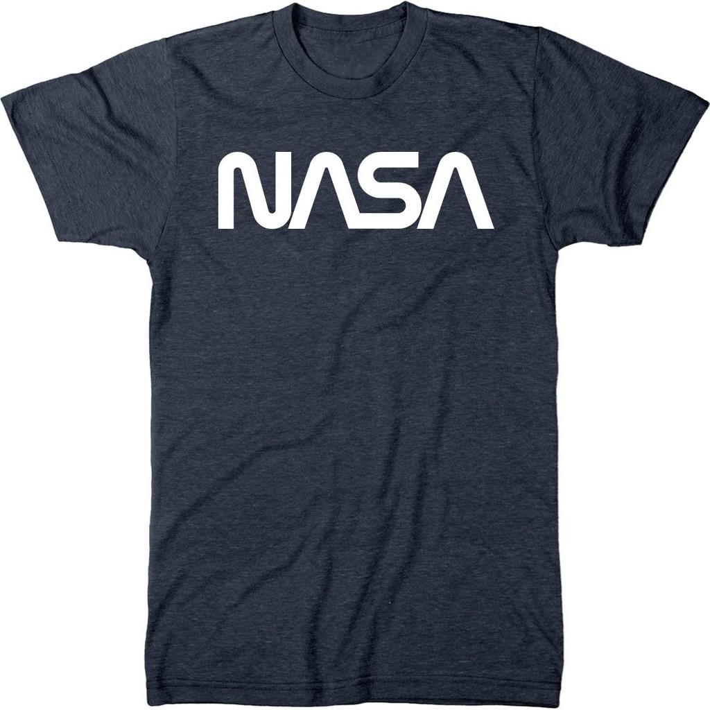Unisex kids   New NASA Space Astronaut Geek Nerd Logo Top T shirt Gray Black White Color