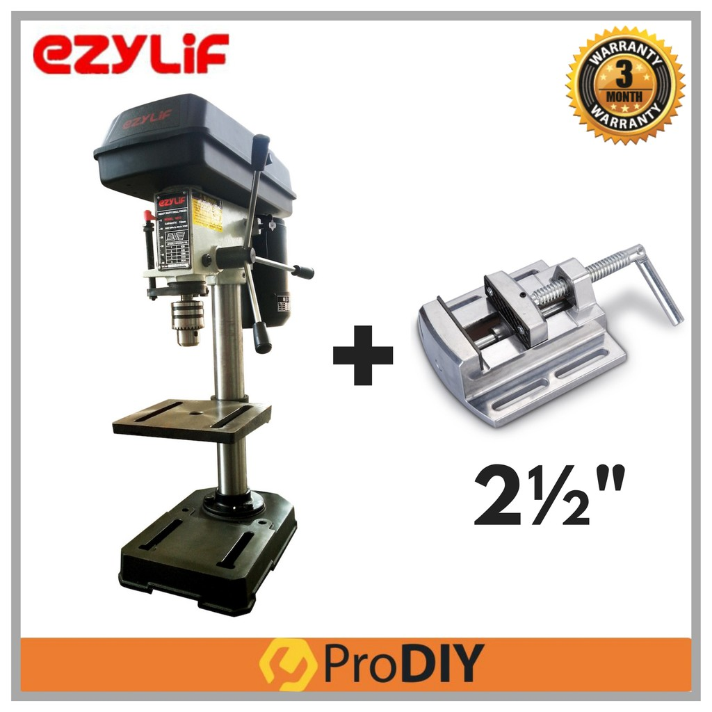 Miraculous Combo Ezylif Vd13 5 Speed Mini Drill Press Bench Drill Vise Vice Press 2 1 2 Andrewgaddart Wooden Chair Designs For Living Room Andrewgaddartcom