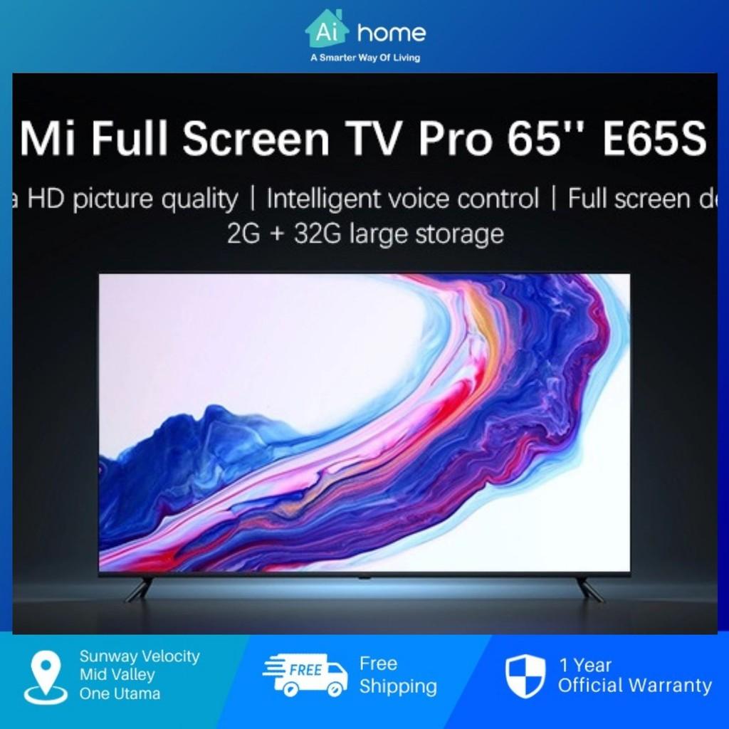 "XiaoMi LED Smart TV E65S 65"" 4K Ultra HD [ CN Version ] - Metal Frame   60Hz Display   Dolby Audio   DTS-HD   12Nm"