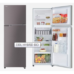 TOSHIBA TWO DOOR REFRIGERATOR INVERTER GR-A39MBZ (DS)