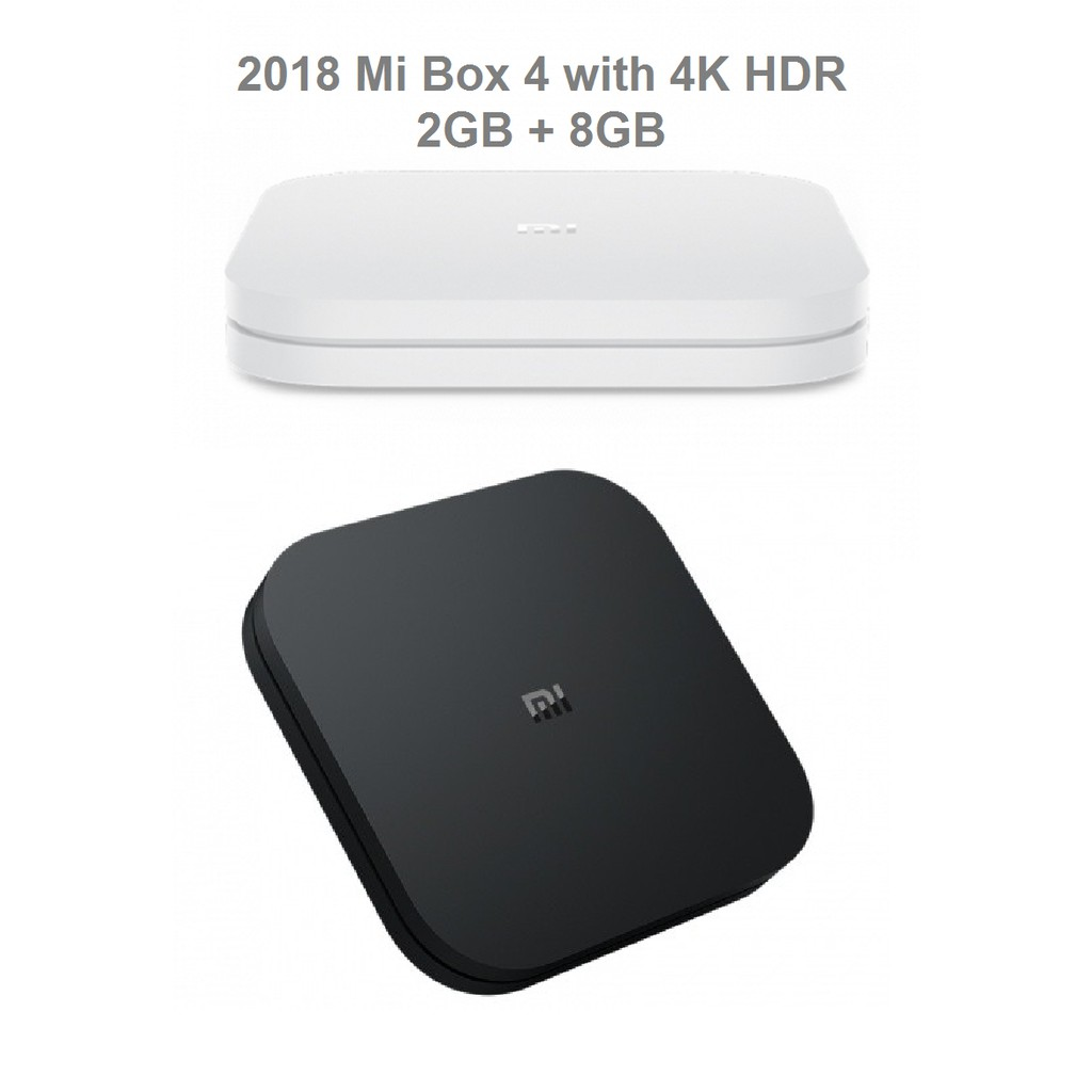 2018 XiaoMi MiBox 4 Mi Box 3S/4C/4 TV Box Android TV Google