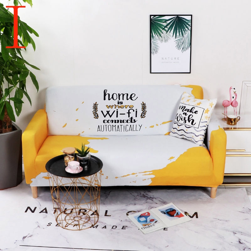 Home Wifi Yellow White Couch Covers For