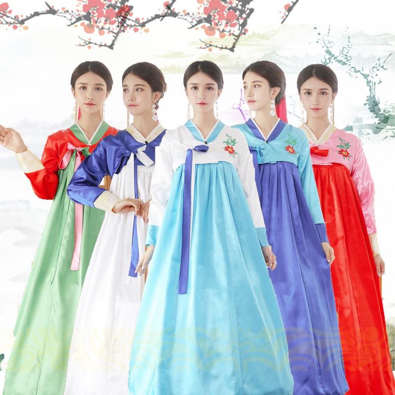 77db3ce747 Adult Women Korean Costume Traditional Hanbok Dress Improved Dance  Performance