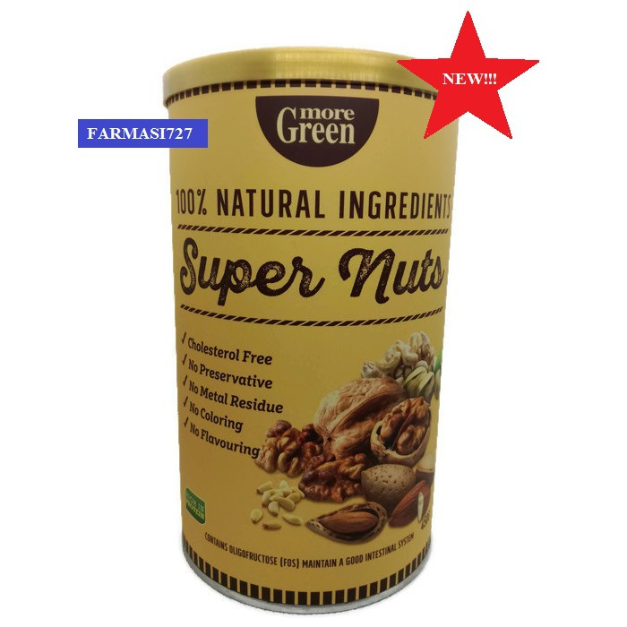more green super nuts 450g exp 8 2020 shopee malaysia