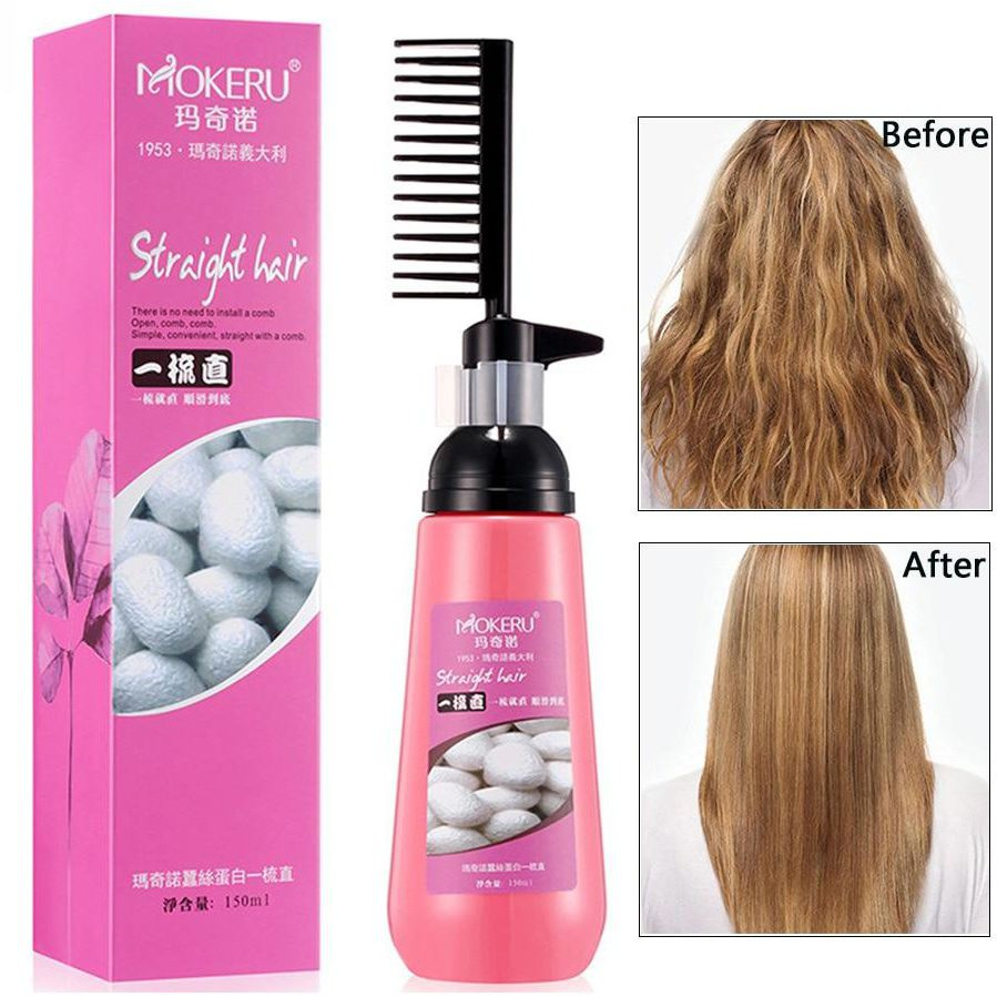 MOKERU Straight Hair 玛奇诺一梳直 (150ml)